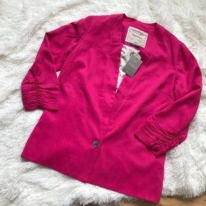 NWT Cartonnier Pink Blazer